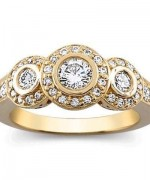Attractive Diamond Rings for Women007