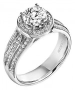 Attractive Diamond Rings for Women010
