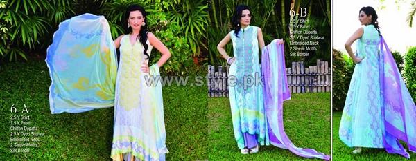 Ayesha Somaya Lawn Dresses 2014 by Flitz 4