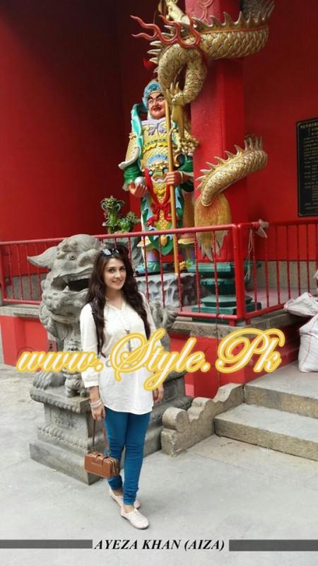 Ayeza Khan In Kuala Lampur, Malaysia pic 010