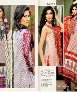 Dawood Textiles Embroidered Lawn Dresses 2014 For Women 002