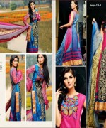 Dawood Textiles Embroidered Lawn Dresses 2014 For Women 003