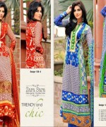 Dawood Textiles Embroidered Lawn Dresses 2014 For Women 006