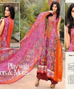 Dawood Textiles Embroidered Lawn Dresses 2014 For Women 007