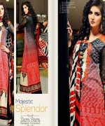 Dawood Textiles Embroidered Lawn Dresses 2014 For Women 008