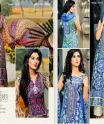 Dawood Textiles Embroidered Lawn Dresses 2014 For Women 009
