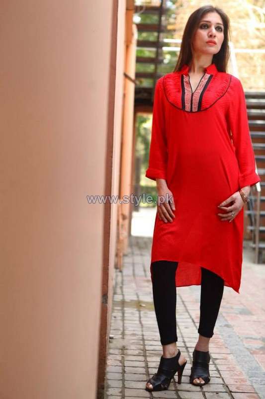 Ferozeh Valentines Day Dresses 2014 For Women 5