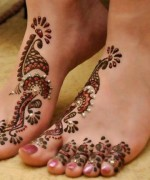 Foot Mehndi Designs for Women001