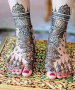 Foot Mehndi Designs for Women002