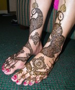 Foot Mehndi Designs for Women003