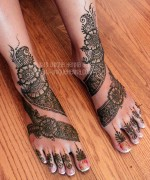 Foot Mehndi Designs for Women006