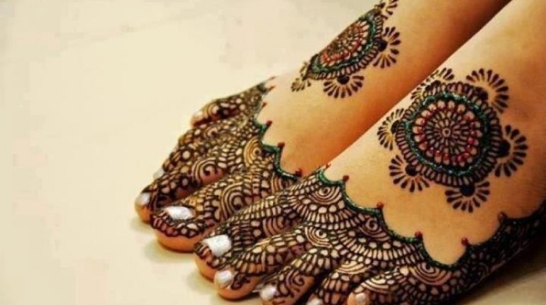 Foot Mehndi Designs for Women