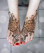 Foot Mehndi Designs for Women008