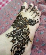 Foot Mehndi Designs for Women013