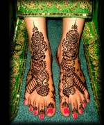 Foot Mehndi Designs for Women015