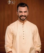 Hadiqa Kiani Spring Dresses 2014 For Men 0012