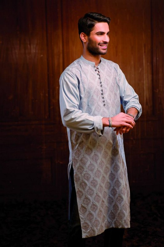 Hadiqa Kiani Spring Dresses 2014 For Men 005