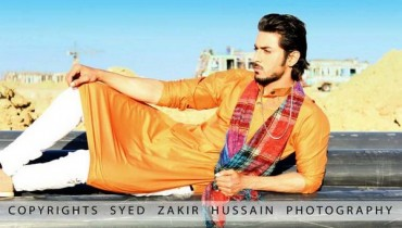 Hassan Waheed Casual Dresses 2014 For Men 005