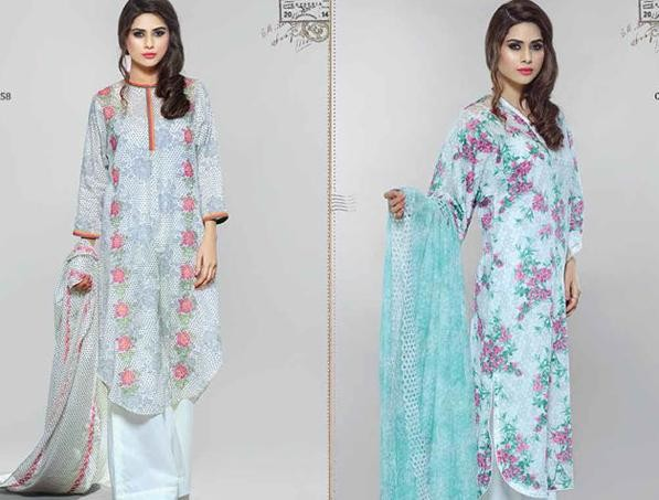 Kayseria Spring Summer Dresses 2014 for Ladies014 pakistani dresses
