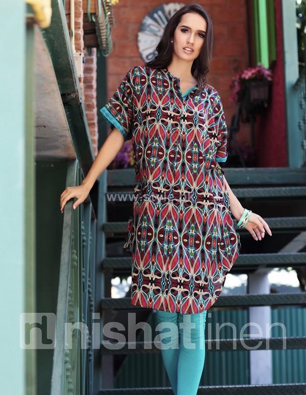 e393c00c4233 Nishat Linen Pret Wear Dresses 2014 Volume 1