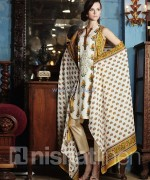 Nishat Linen Spring Summer Dresses 2014 For Women 1