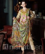Nishat Linen Spring Summer Dresses 2014 For Women 2