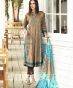 Nishat Linen Spring Summer Dresses 2014 For Women 4