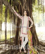 Nishat Linen Spring Summer Dresses 2014 For Women 7 150x180 pakistani dresses fashion brands dress designs