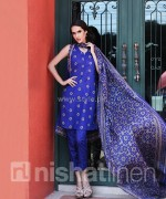 Nishat Linen Spring Summer Dresses 2014 Volume 1 13 150x180 pakistani dresses fashion brands dress designs