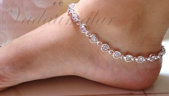 womens anklets black pearl leather for listing il women anklet