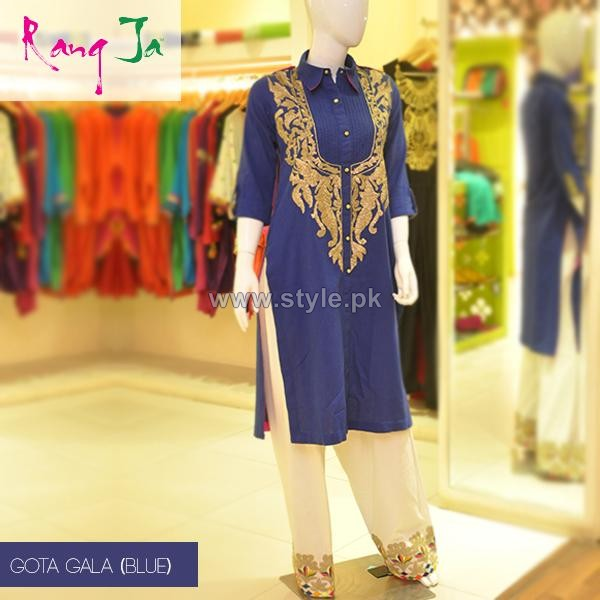 rang ja casual wear dresses 2014 for spring