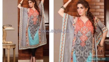Rashid Textiles Digital Prints 2014 For Women 12