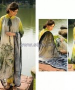 Resham Ghar Digital Lawn Prints 2014 For Girls 3