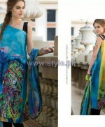 Resham Ghar Digital Lawn Prints 2014 For Girls 5