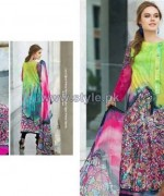 Resham Ghar Digital Lawn Prints 2014 For Women 9