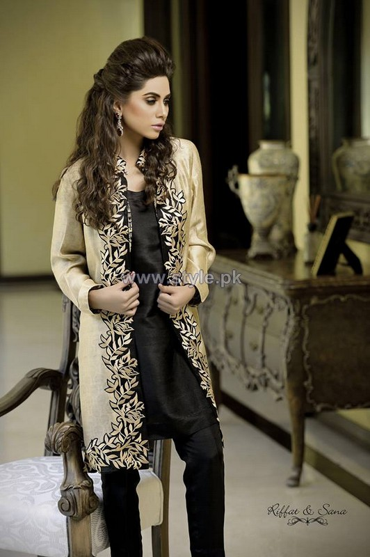 Sana Salman Summer Dresses 2014 For Girls 5