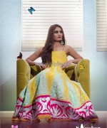 Sanober Azfar Spring Clothes 2014 For Girls 1