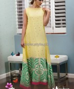 Sanober Azfar Spring Clothes 2014 For Girls 2