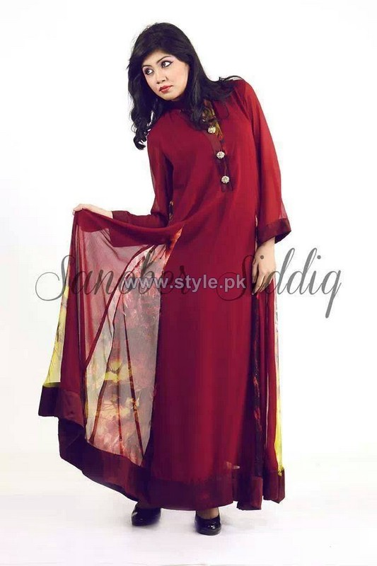 Sanober Siddiq Spring Dresses 2014 For Girls 2