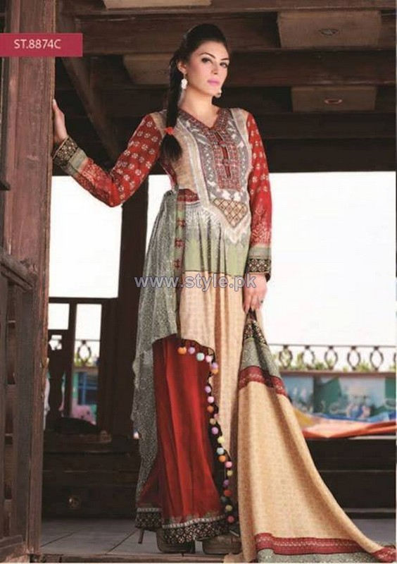 Shariq Textiles Libas Lawn Dresses 2014 For Summer 2