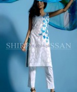 Shirin Hassan Lawn Prints 2014 For Summer 1