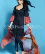 Shirin Hassan Lawn Prints 2014 For Summer 2 150x180 pakistani dresses dress designs designer dresses