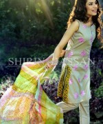 Shirin Hassan Lawn Prints 2014 For Summer 3