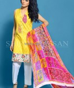 Shirin Hassan Lawn Prints 2014 For Women 5 150x180 pakistani dresses dress designs designer dresses