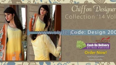 Silkasia Chiffon Collection 2014 For Women 6