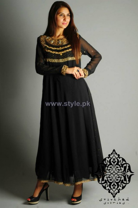 Stitched Stories Spring Dresses 2014 For Women 6