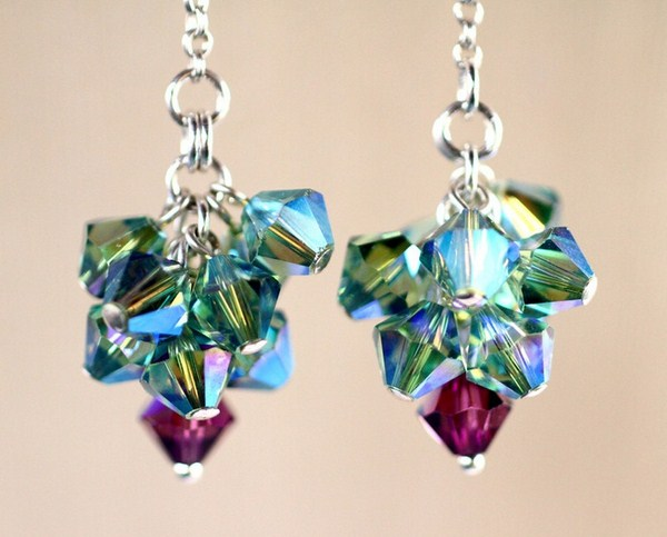Swarovski Crystal Jewellery Designs 2014 For Women