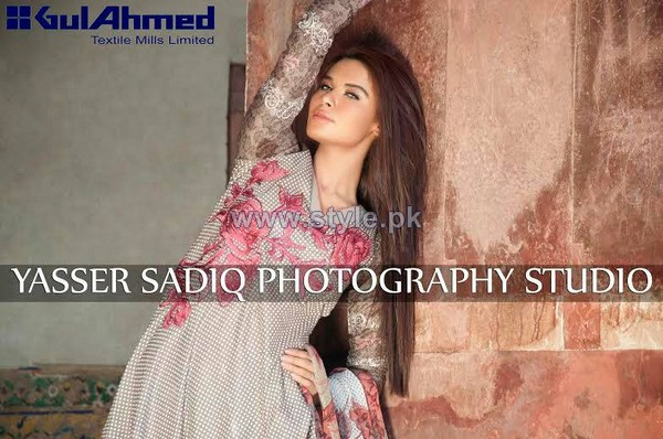 The Original Lawn Prints 2014 by Gul Ahmed Sneak Peak 9 pakistani dresses fashion brands dress designs