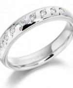 Unique White Gold Diamond Rings for Women014