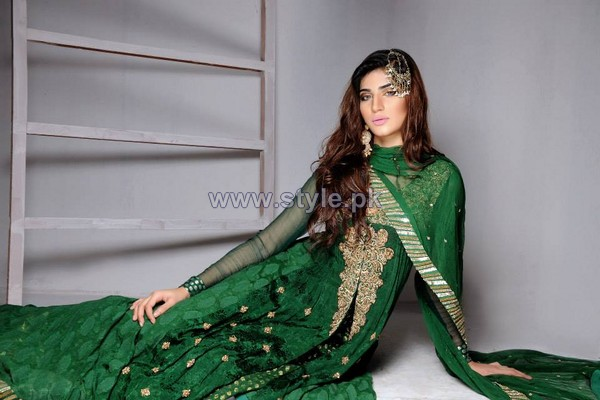 Wajahat Mansoor Formal Wear Dresses 2014 For Summer 4